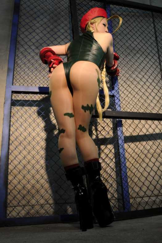 cammy cosplay babe sex gif